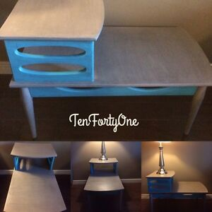 Funky Retro Side Table