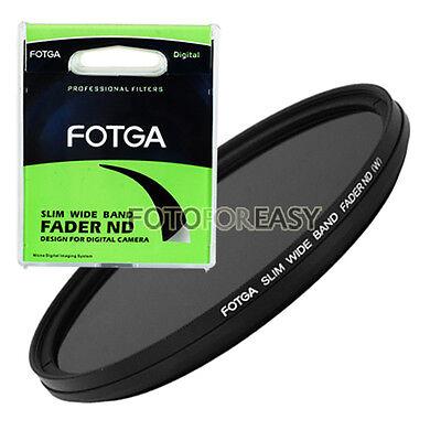 FOTGA Slim Fader Variable ND Filter Adjustable ND2 to ND400 58mm Neutral Density