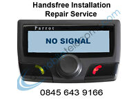 Parrot Hands Free Car kit Fitting Software Update Repairs Liverpool Merseyside Cheshire Lancashire
