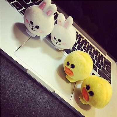 Line Friends App Cony Couple Plush Doll Greeting Hair Clip Naver Characters