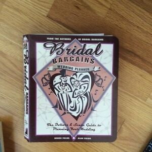 Wedding planning book guide not used