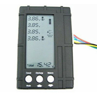 Battery 3in1 LCD Balancer Voltage Tester Discharger for 2-6S Li-Po Lipo Battery  for sale  China