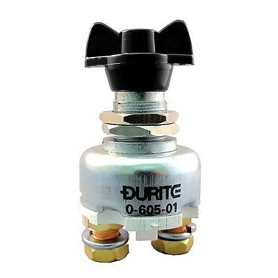 Durite 0-605-01 - Lucas SSB106 Style Battery Isolator Kill Cut Off Switch