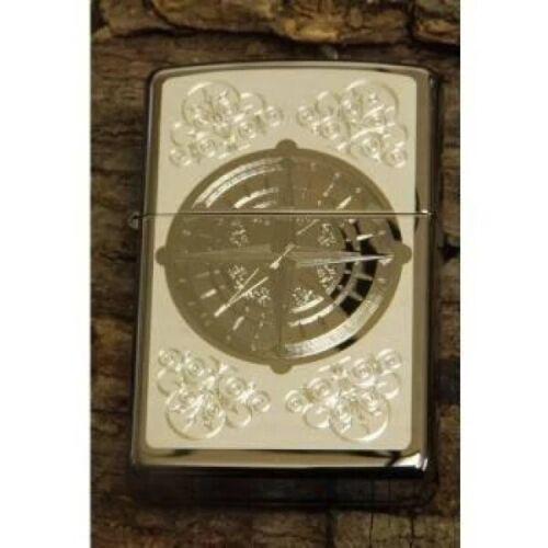 Zippo Lighter - Compass Rose Black Ice - 853208