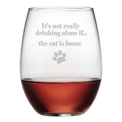 Joss   Main Stemless Wine Glasses Set Of 4  New In Box
