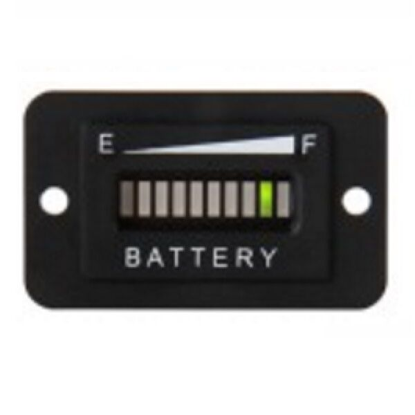 Golf Cart Accessories 36 Volt LED Battery Indicator Meter Ga