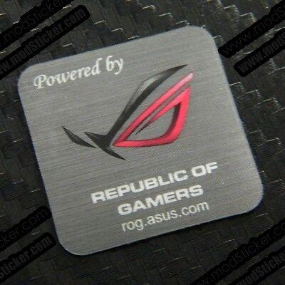 Powered By Republic of Gamers Asus ROG Sticker segunda mano  Embacar hacia Argentina