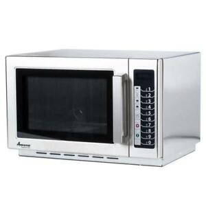 BRAND NEW AMANA 1000 WATTS MICROWAVE ( DEMO MODEL )