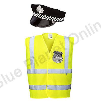 MENS ADULTS POLICEMAN POLICE COP FANCY DRESS COSTUME UNIFORM OUTFIT S-XL](Cop Outfit For Men)