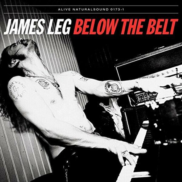 Below the Belt ~ James Leg CD