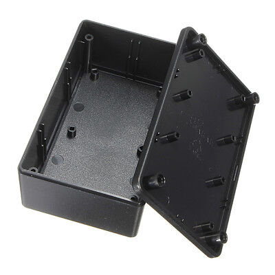 Abs Plastic Electronic Enclosure Project Box Black Junction Case 103x64x40mm