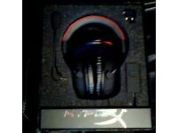 Used Hyper X cloud headset - Very good condition - Includes all accessories.