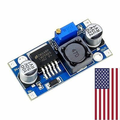 1 Pcs Lm2596 Dc Adjustable Buck Converter Step Down Power Supply Module 1.23-30v