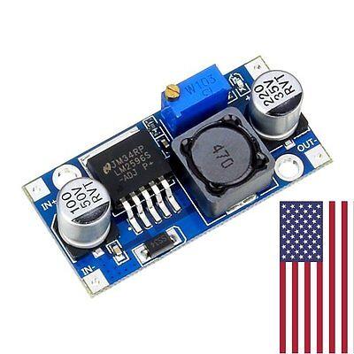 1 Pcs Lm2596 Dc Adjustable Buck Converter Step Down Power Supply Module 1.23-30v