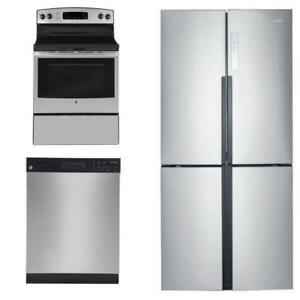 STAINLESS STEEL APPLIANCE PACKAGE--BEST DEAL IN THE GTA!!!