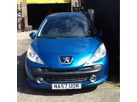 Pug 207 in good condition this will come with full mot
