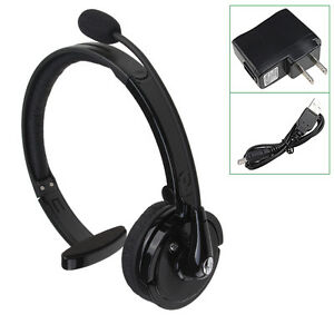 Noise cancelling mic headset