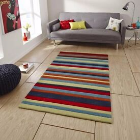 RUG FOR SALE, Think Rugs, 120 x 170, Multi Stripe