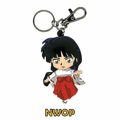 Inuyasha - A Feudal Fairy Tale Kikyo PVC Keychain Official Licensed NWOP