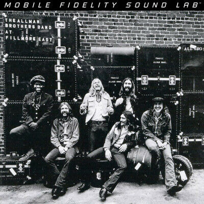 The Allman Brothers Band ‎– Live At Fillmore East SEALED MFSL 2xLP (Allman Brothers Band Live At Fillmore East)