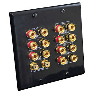 Home Audio/Video Connection wall-plates & Wiring