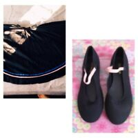 Ballet character skirt & shoes for sale!