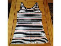 Stripy Vest Top.