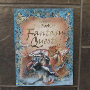 The Usborne Big Book of Fantasy Quests Kitchener / Waterloo Kitchener Area image 1