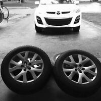 Mazda 18 x 7 1/2 J 50 Mags