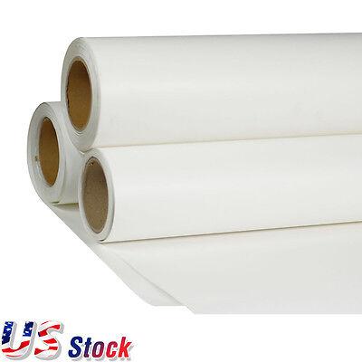 Usa - 24 X 98 Roll White Printable Heat Transfer Vinyl Film For T-shirt Fabric