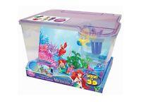 Little mermaid fish tank