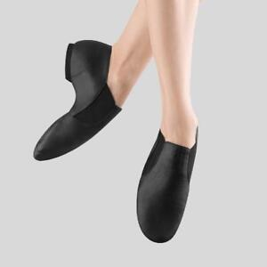 BLOCH ELASTA BOOTIE JAZZ SHOE- ADULT- size 4.5 Black