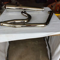 2 into1 Exhaust System.