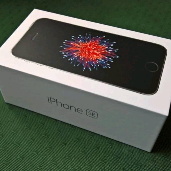 New IPhone SE Slate Grey 32GB - EE