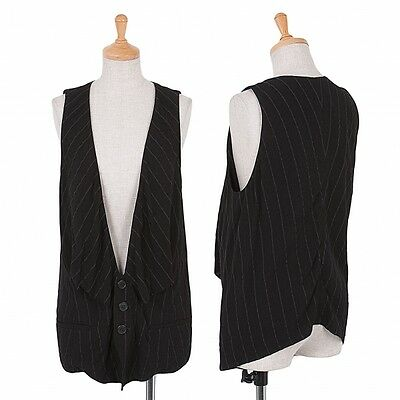 LIMI feu Deformed striped vest Size S(K-46213)