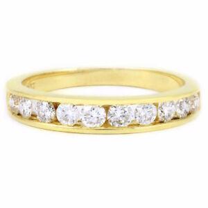 14k Yellow Gold Diamond Anniversary Band (0.60 tdw) #1907