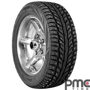 """17"""" Cooper Performance Winter Tires - Set of 4 - Like New"""