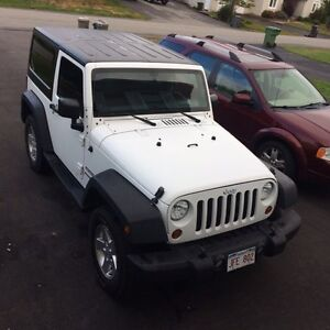 2013 Jeep Wrangler Sport Coupe (2 door)