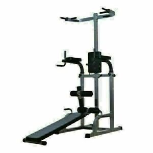 Tour DIPS Chaise Romaine Traction Musculation Barre Fixe