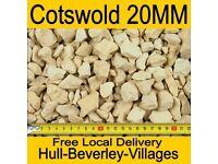 Cotswold - decorative gravel - 20mm