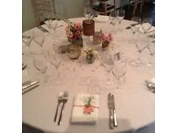 Wedding table centre decorations