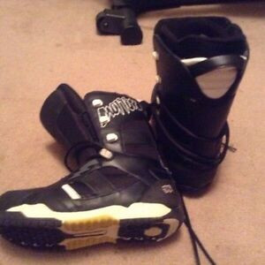 Size 10 Morrow Snowboard Boots. Good Shape. $50