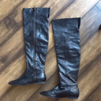 Aldo Knee high (over the knee) leather boot