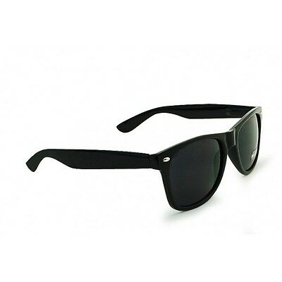 UNISEX 80's Style CLASSIC Black Frame 100% UV NEW MEN WOMEN Sunglasses (80s Wayfarer Sunglasses)
