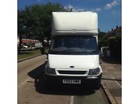 Van for sale Ford transit van luton LWB