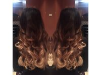 Stunning hair extensions. Fully mobile. Same day APPTS available 💜