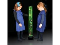 BUBBLE TUBE MULTI COLOURED SPECIAL NEEDS SENSORY IPOD LAMP, RELAXING