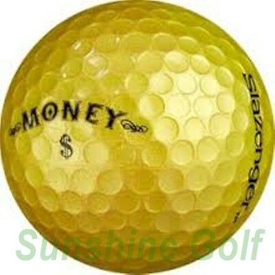09abf16a858 12 Near Mint Slazenger Gold Money AAAAA Used Golf Balls - FREE SHIPPING