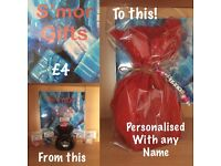 Personalised burner and 5 melts