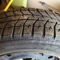 7 WINTER TIRE SETS OF 4 Different Sizes !!